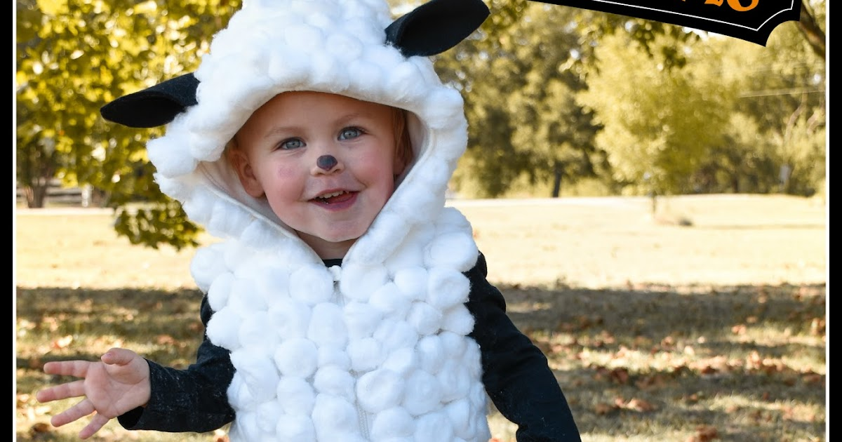 This Lovely Life Diy No Sew Sheep Costume