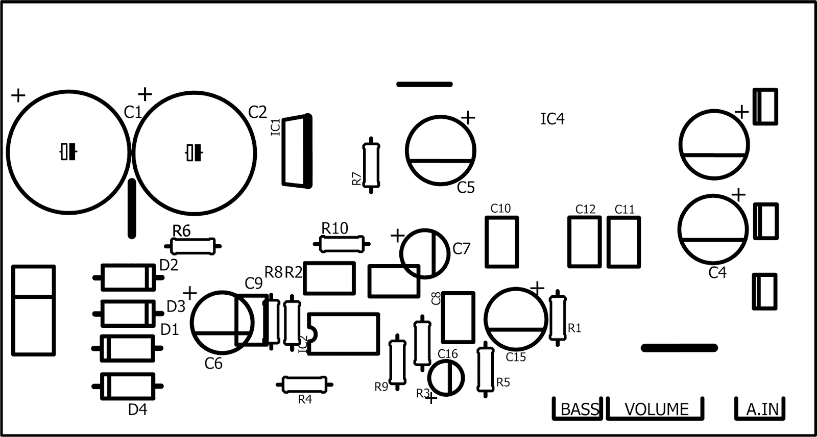 Tda1554q 21 70 Watts True Rms Audio Amplifier Schematic Of Low Pass Filter Subwoofer Using Lm324 Circuit To Use The Possibilities Which