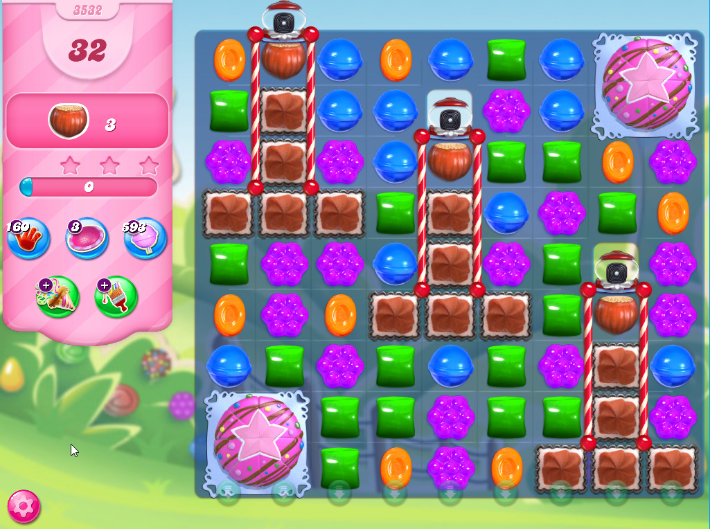 Candy Crush Saga level 3532