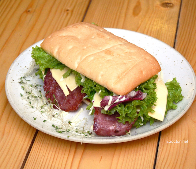 Hot Pressed BLT Ciabatta