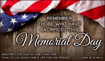 memorial day 2016 status