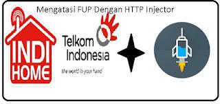 Mengatasi FUP pada Indihome dengan Http Injector di Android