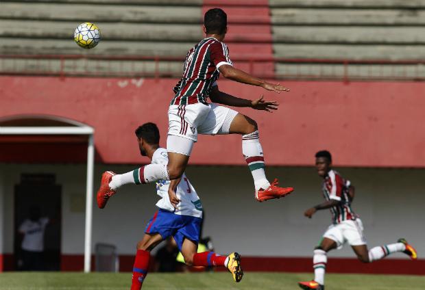 Copa do Brasil sub-20: Bahia empata com o Fluminense e avança para as quartas