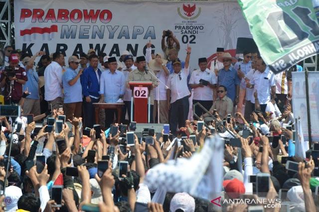 Prabowo: Insyaallah Aku Akan jemput Habib Rizieq