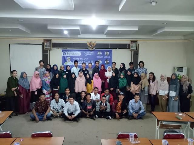 Komunitas Jurnalistiwa Menggelar Workshop Bertajuk Semua Bisa Berkarya