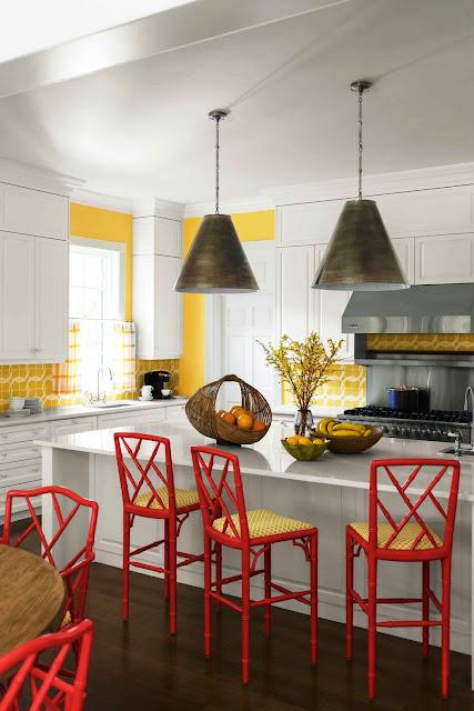 Kombinasi Warna Merah Putih Kuning