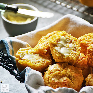 Honey Cornbread Muffins | by Life Tastes Good