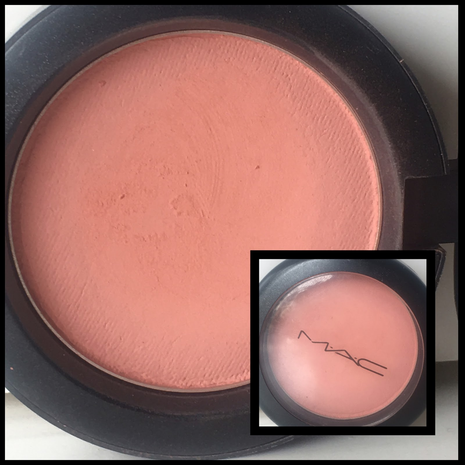 MAKEUP FOR ETERNITY : MAC Powder Blush Melba Review & Swatches