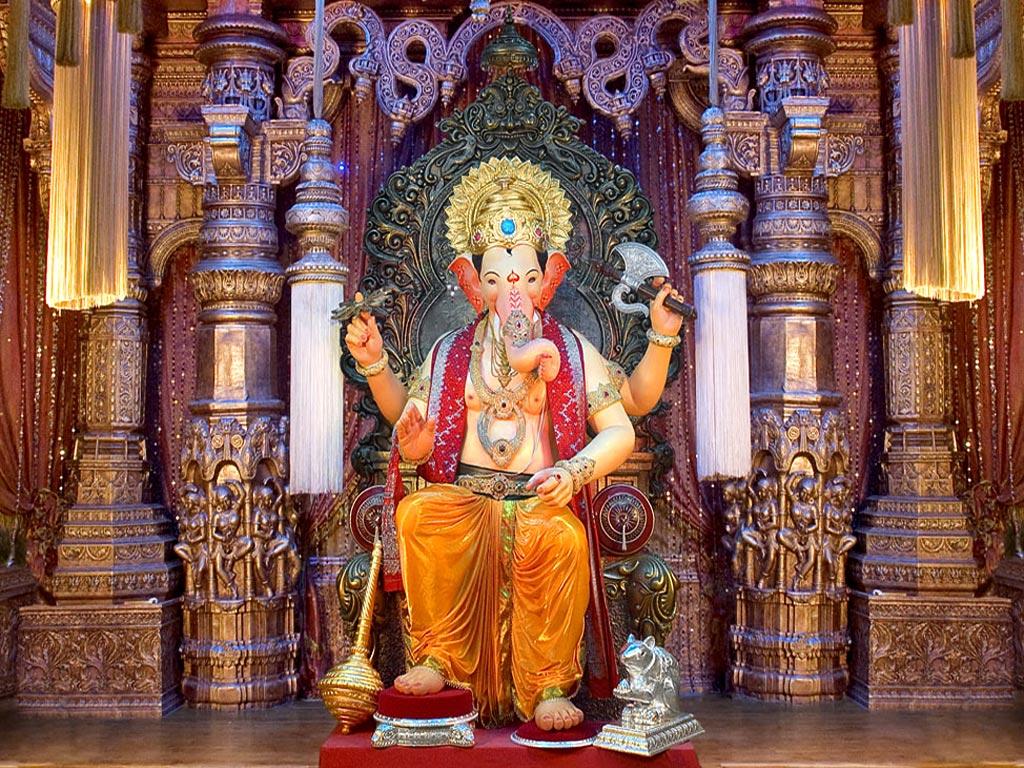 Lalbaugcha Raja Ganpati Lalbaugcha Hindu God Wallpapers Free