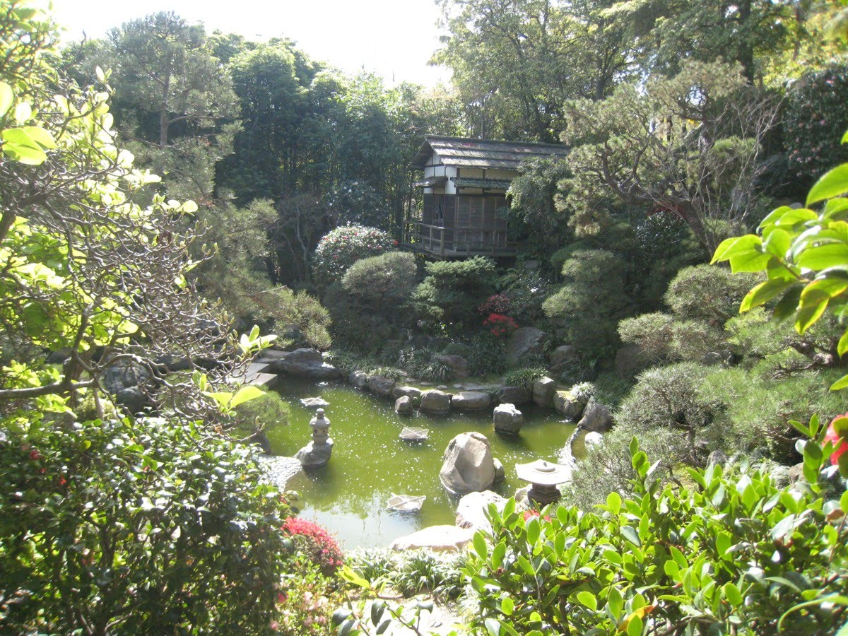 Los Angeles Japanese Garden: Things To Do In Los Angeles: UCLA Has A Japanese Garden?