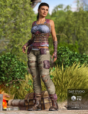 Relentless Mercenary Outfit Textures