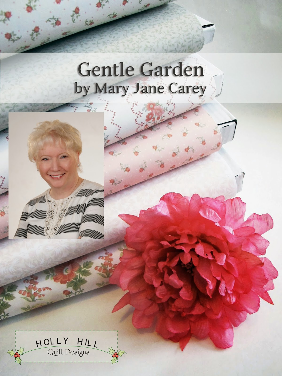 Hg Fly Henry Glass Fabrics: Gentle Garden