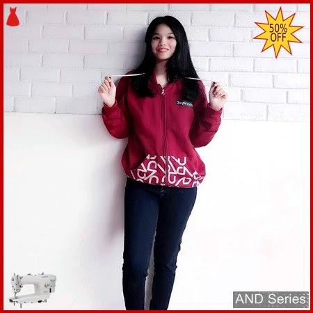 AND178 Jaket Wanita Jacket Supreme Techno Merah BMGShop