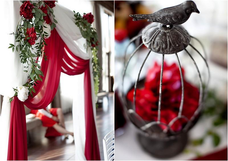 декор садовой свадьбы