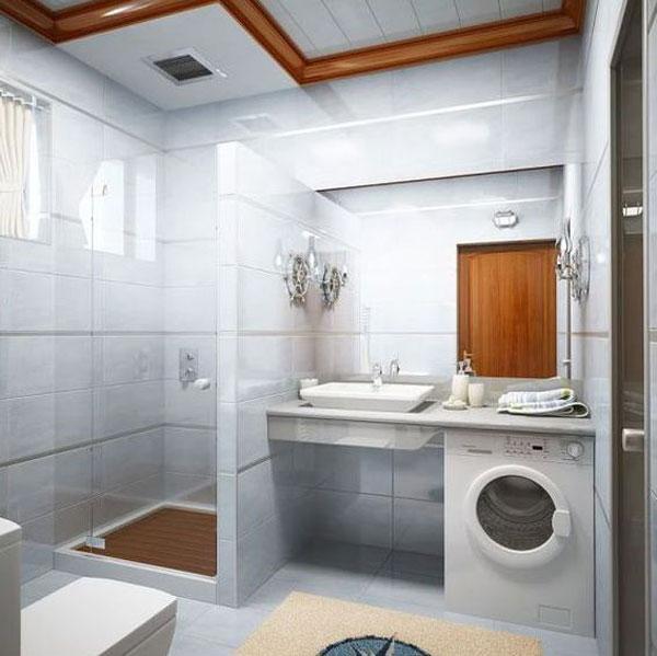 Hogares frescos 30 ideas para cuartos de ba os peque os y for Disenos de cuartos pequenos