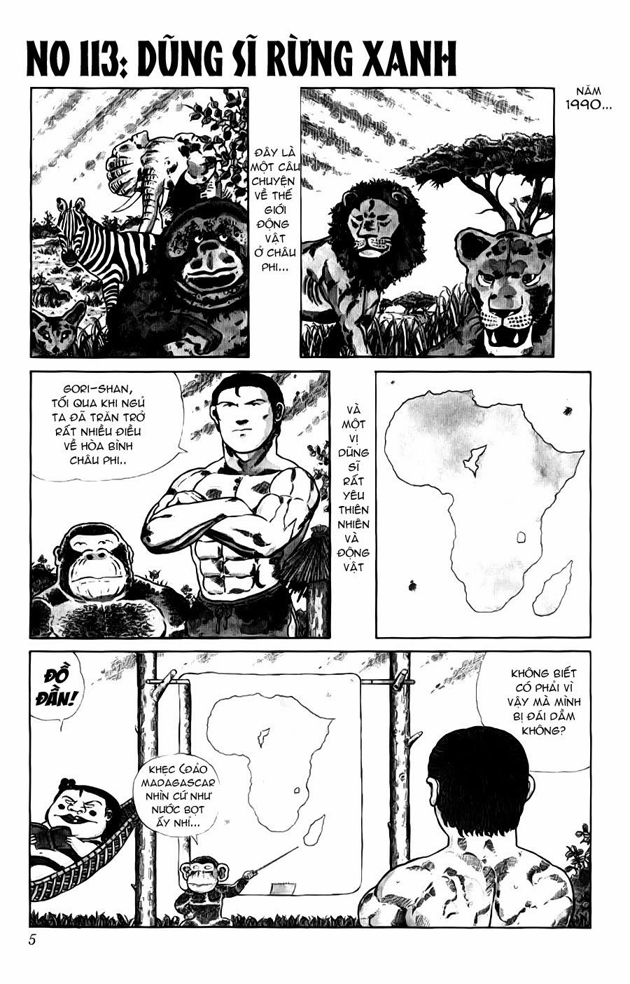 Chúa rừng Ta-chan chapter 113 (new - phần 2 chapter 1) trang 5