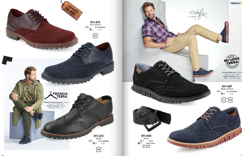 Zapatos mundo terra caballeros ropa y calzado pv 2018 for Catalogos terra