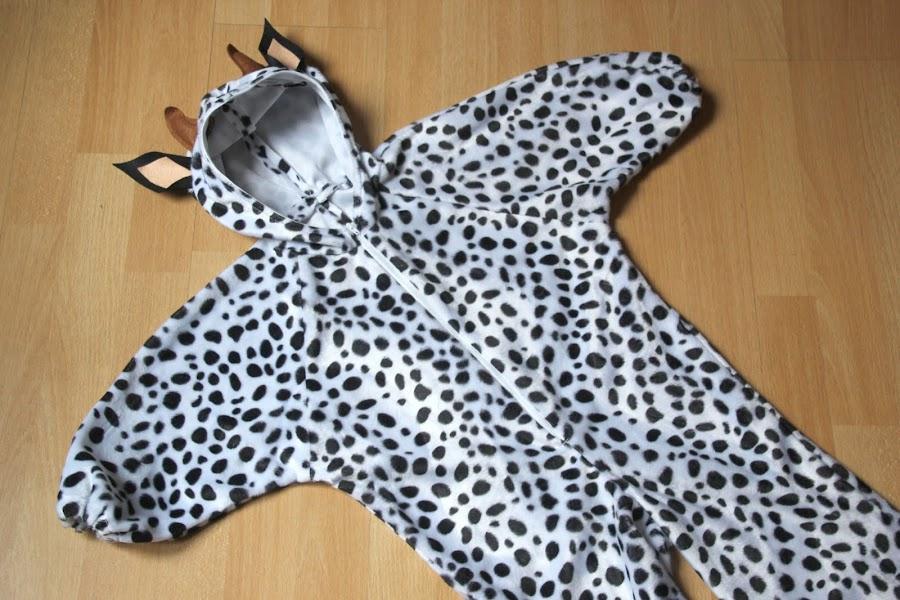 Diy como hacer disfraz de vaca niños halloween carnaval patrones gratis