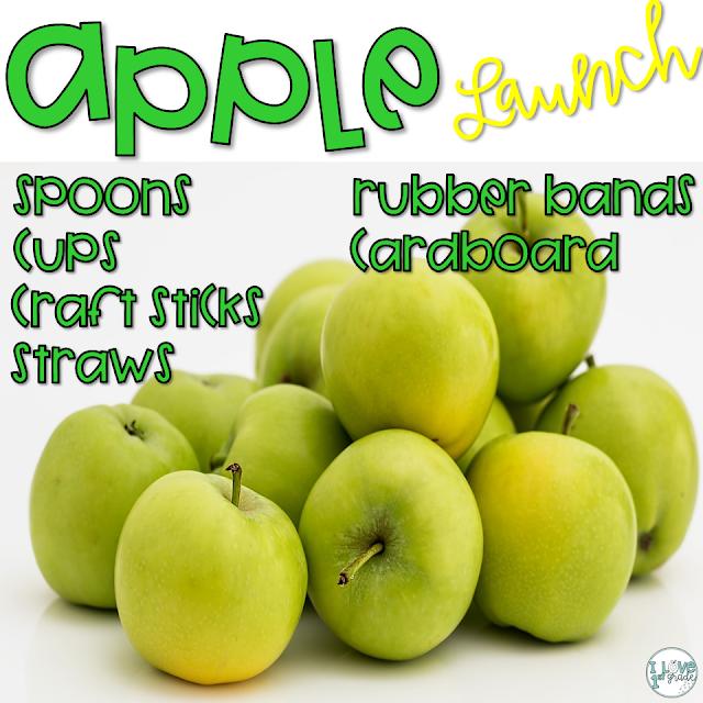 apple activities for second grade