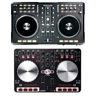 Reloop BeatMix i Numark MixTrack PRO porównane w skali 1:1