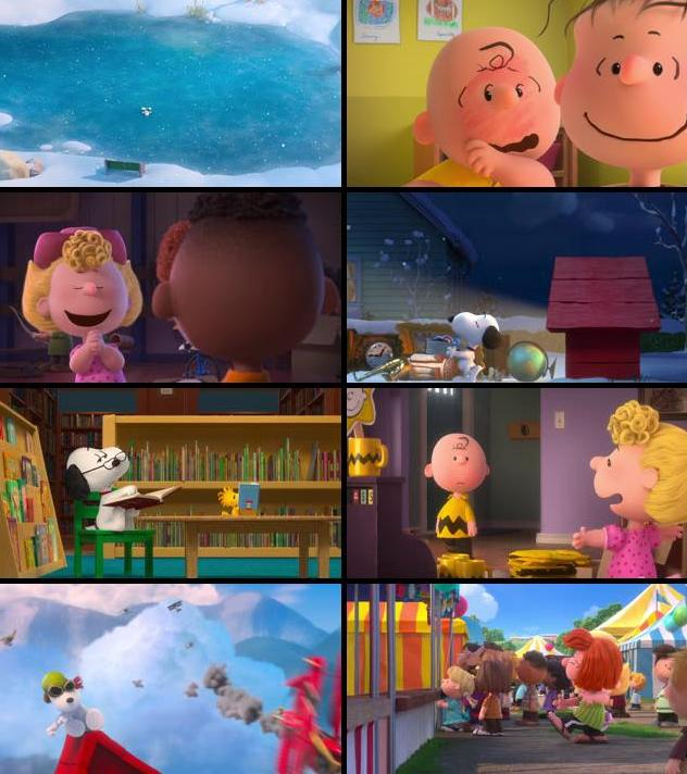 The Peanuts Movie 2015 English 720p BRRip 750MB ESubs