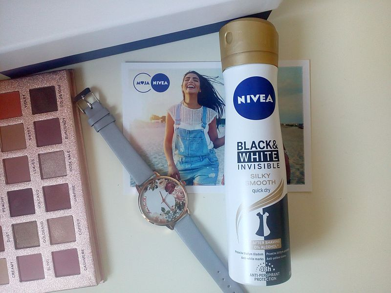 BLACK & WHITE INVISIBLE SILKY SMOOTH | Nivea