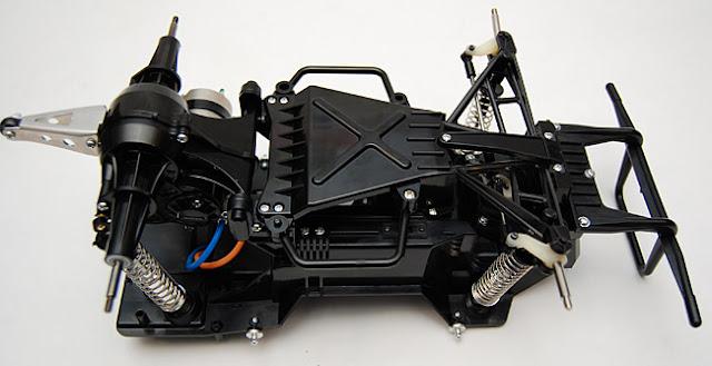 Tamiya Lunchbox underside chassis
