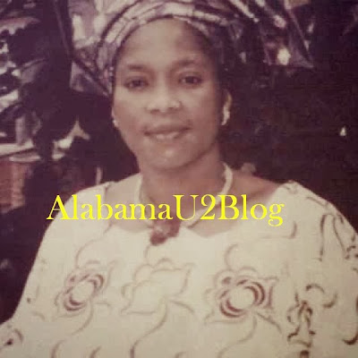 Kudirat Folashade is the dead mother of yoruba actor Sukanmi Omobolanle