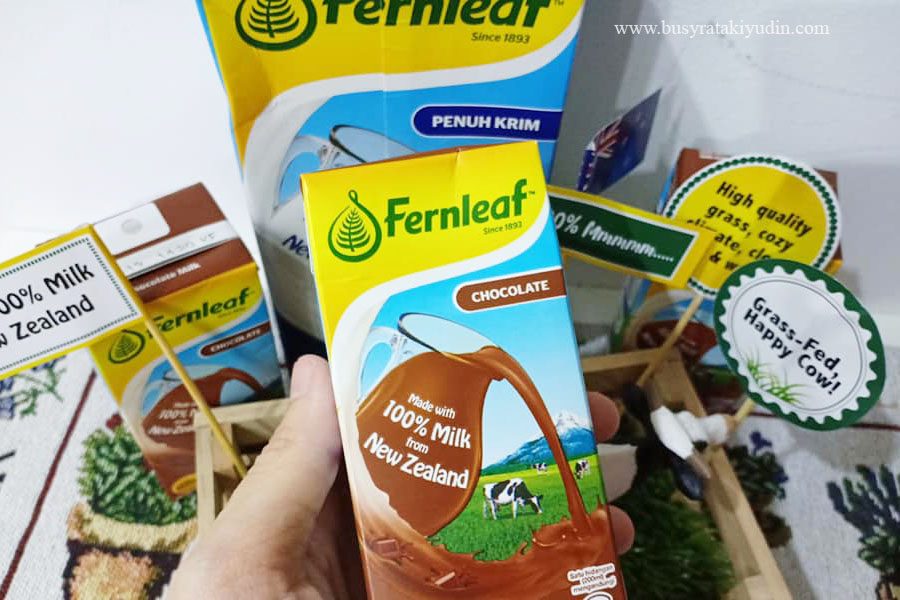 food review, fernleaf, susu dari new zealand, lembu tenusu, 100% Mmmmm,
