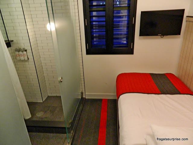 Quarto do Hotel Pod 39, Nova York