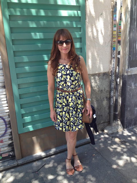 Vestido de limones / lemon dress