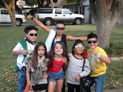 Fail Young Kids dressed up like Jersey Shore Cast