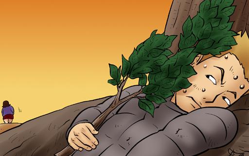 Kim Chi & Củ Cải (bộ mới) phần 307: Thú dữ trong rừng rậm