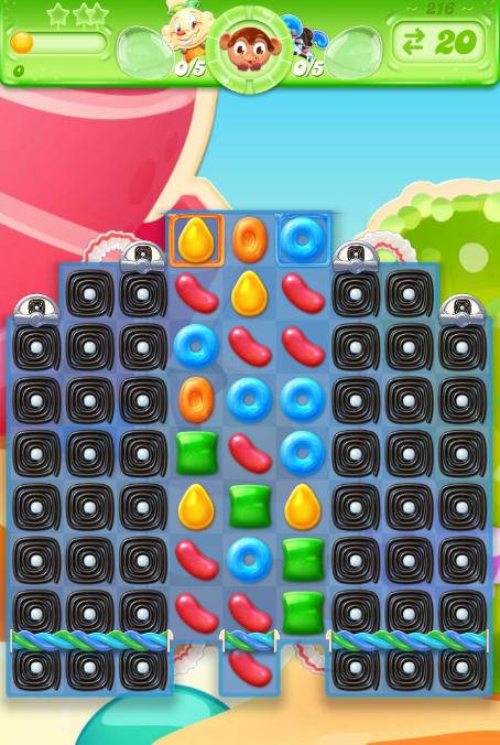 Candy Crush Jelly Saga 216