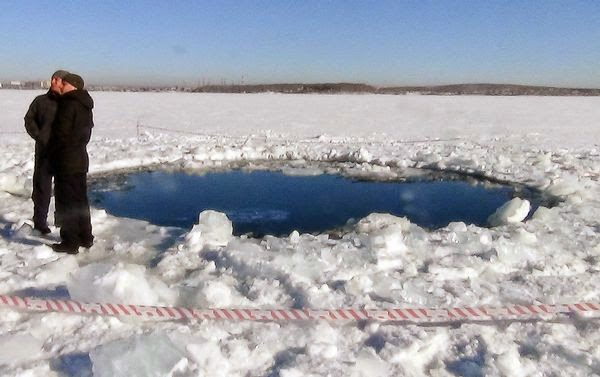 The Spirit Of Truth Blog The Russian Meteorite The