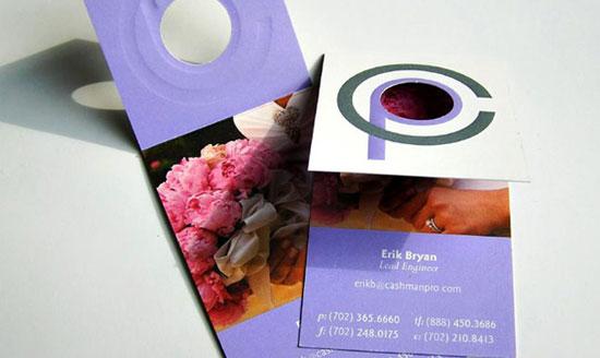 tarjetas de presentacion morados ejemplos