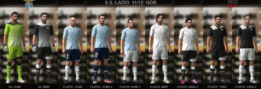 Lazio 11/12 Kit Set by Txak