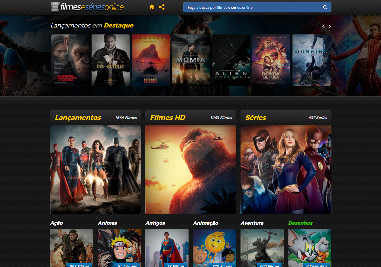 Filmes series online e gratis