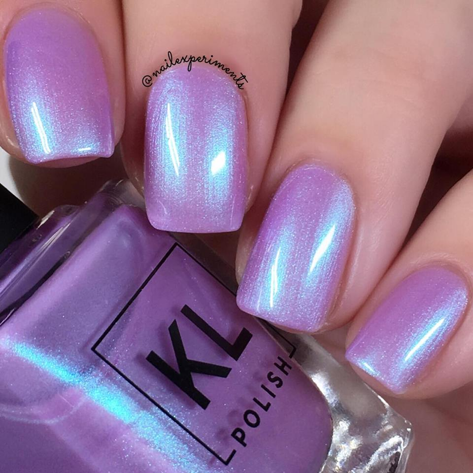 Nail Experiments Kl Polish Ethereal Garden Collection Spring 2018 Swatch And Review