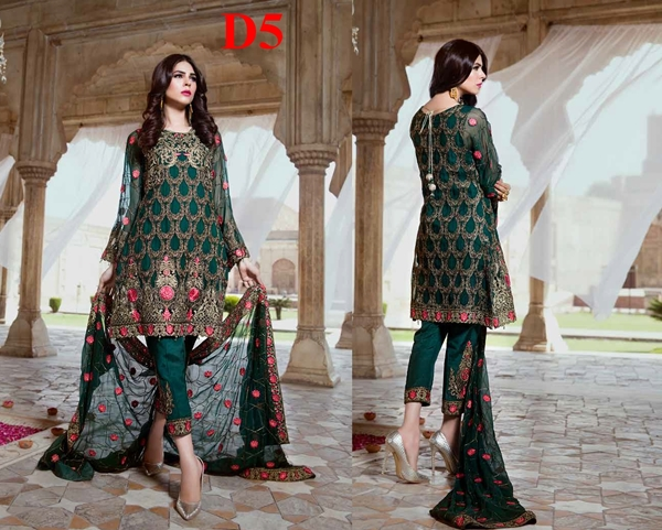 serene premium embroidered chiffon