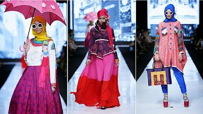 Model Baju Muslim Brokat Dian Pelangi Terbaru