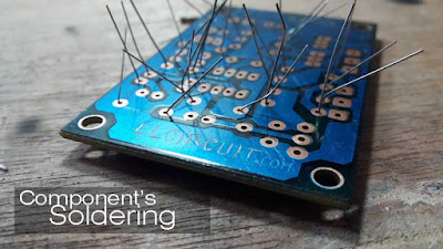 Soldering Part of Audio Noise Filter