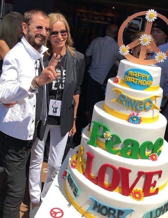 Ringo Starr a célébré son 78e anniversaire à Nice