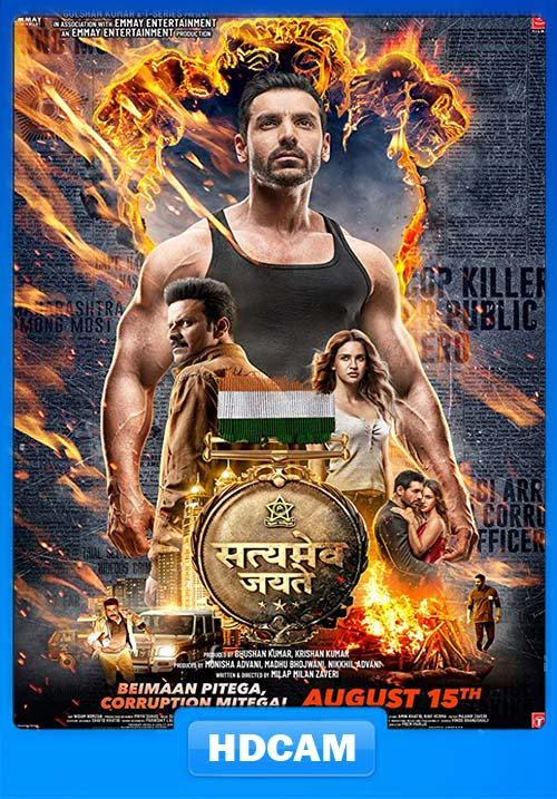 Satyameva Jayate 2018 Hindi 720p PRE-DVDRip x264 | 480p 300MB | 100MB HEVC
