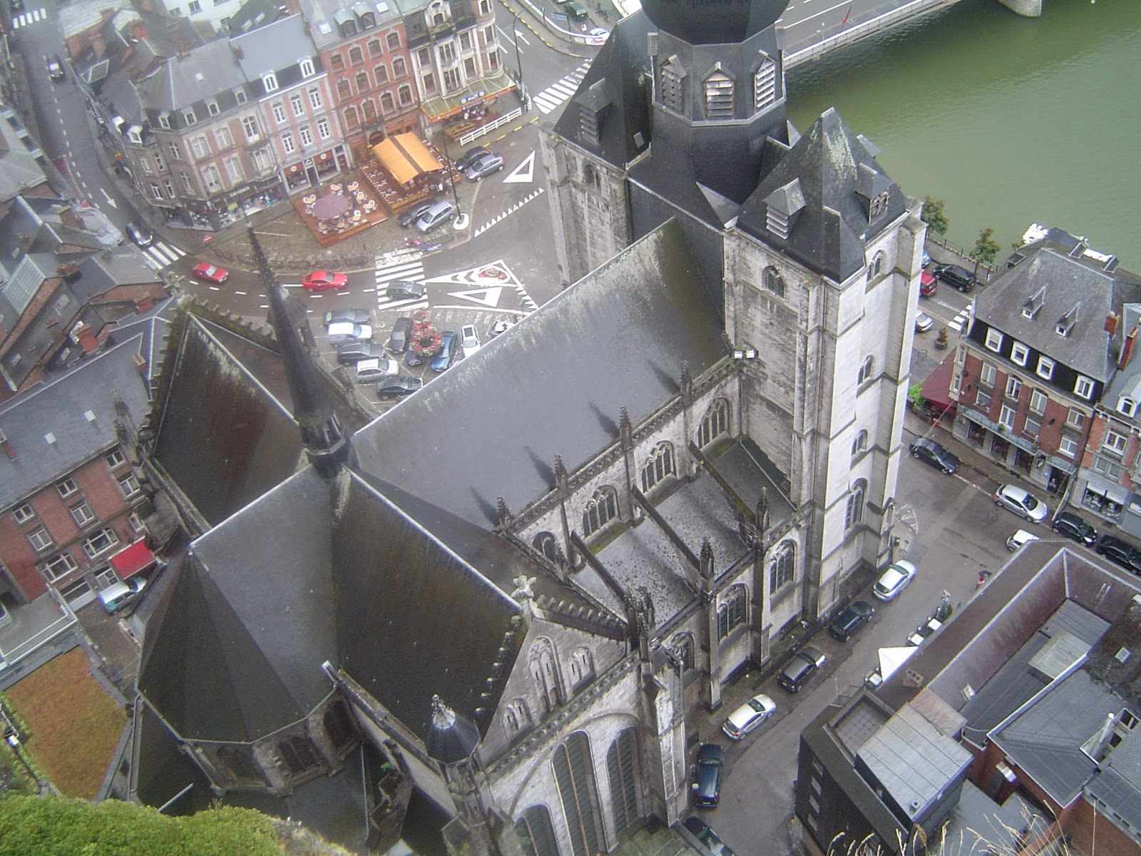 Cathedral Dinant Belgium travel