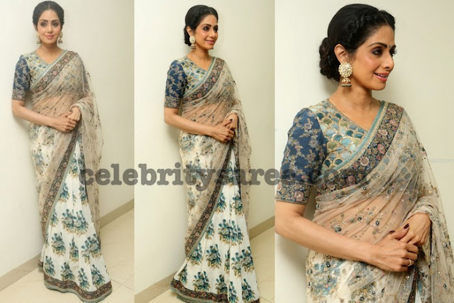 Sridevi Kapoor at Mom Trailor Launch