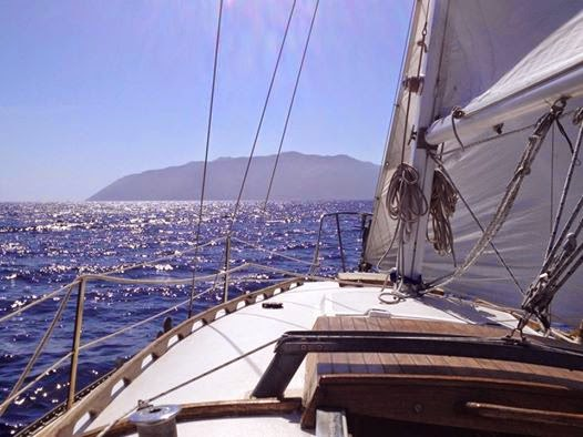 sailing to Catalina from San Diego
