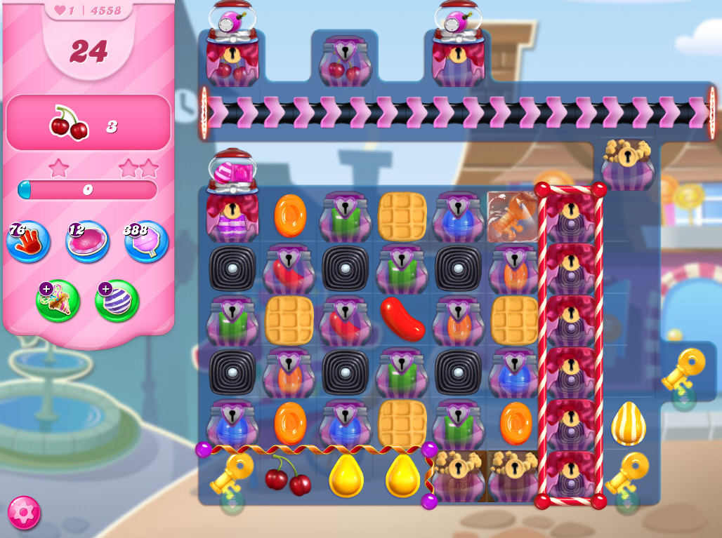 Candy Crush Saga level 4558