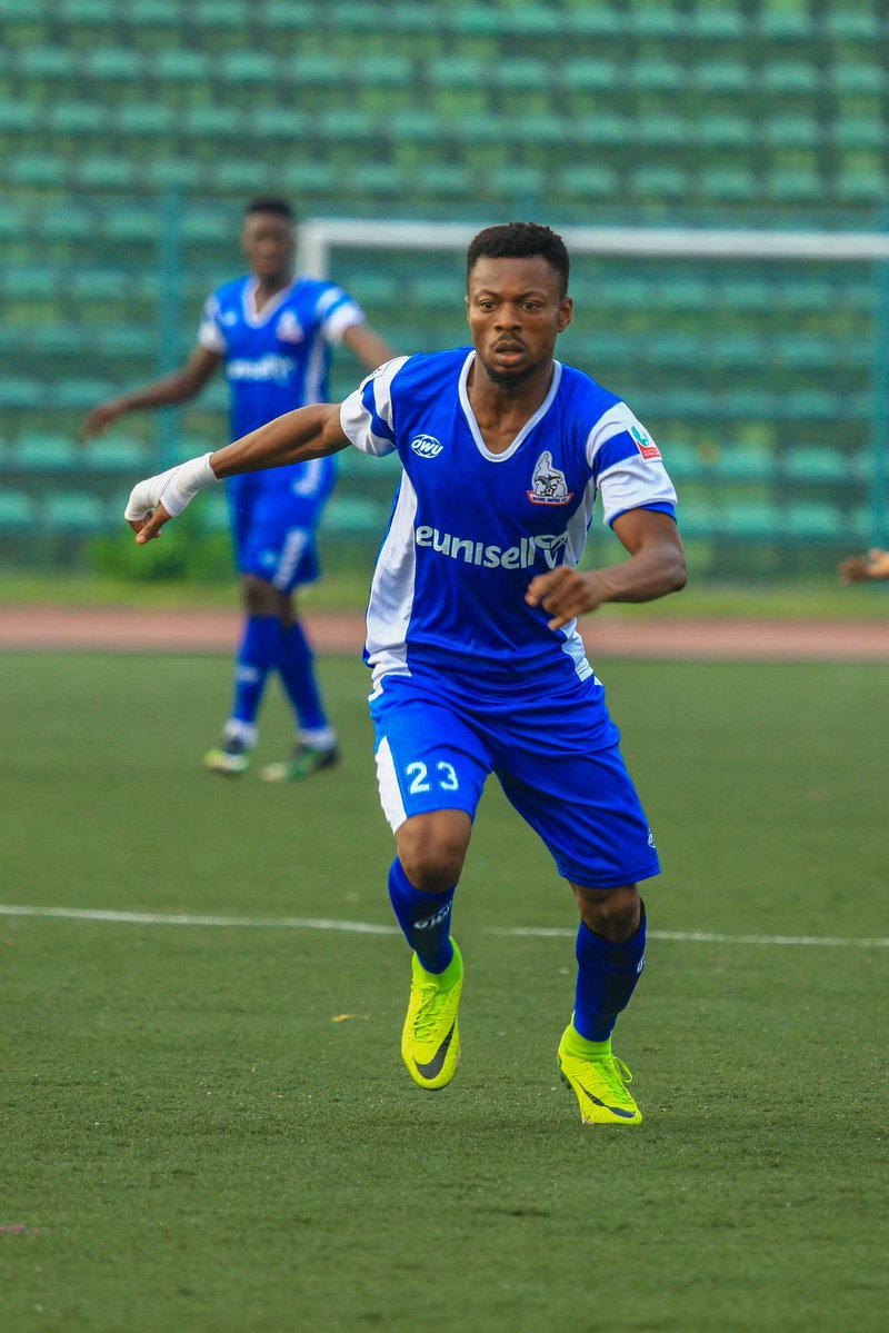 Salefu Ochowechi has been brilliant for Rivers United since joining from relegated Remo Stars