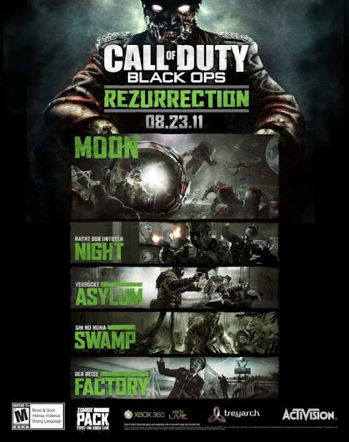 Call Of Duty Black Ops Rezurrection Map Pack Coming On